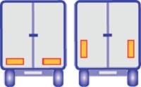 3M Pakkens Tır Arkası Reflektör