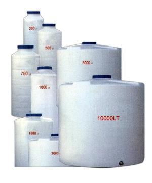 20000 lt. Plastik Dik Su Deposu Silindirik Polietilen PSL