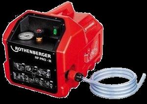 Rothenberger Elektrikli Tip Test Pompası-40 Bar