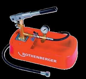 Rothenberger Köşeli Tip Test Pompası-30 Bar