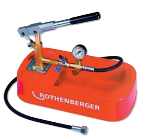 Rothenberger Köşeli Tip Test Pompası-30 Bar