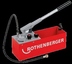 Rothenberger Köşeli Tip Test Pompası-60 Bar