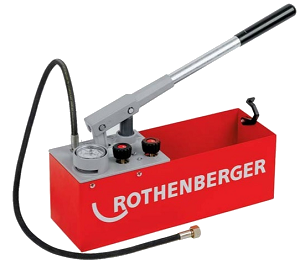 Rothenberger Köşeli Tip Test Pompası-60 Bar