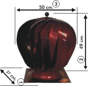 A Modeli Esmatik Baca Aspratörü